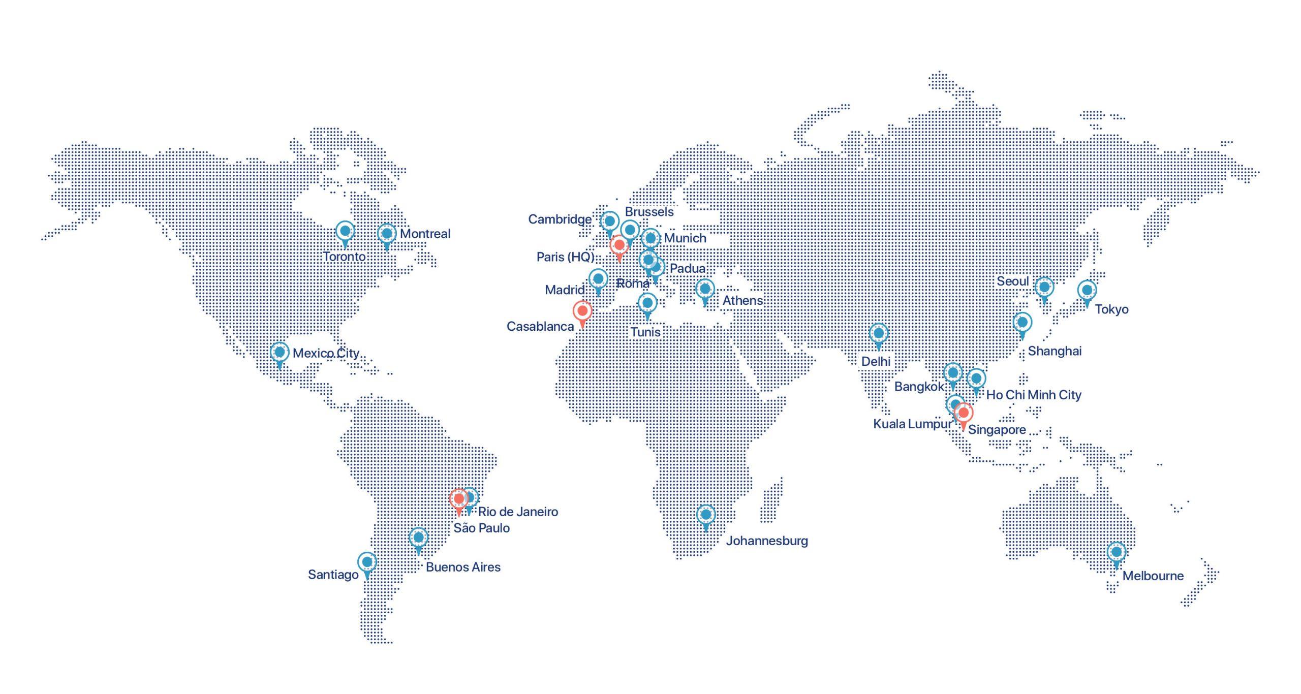 Halifax Consulting auf der ganzen Welt